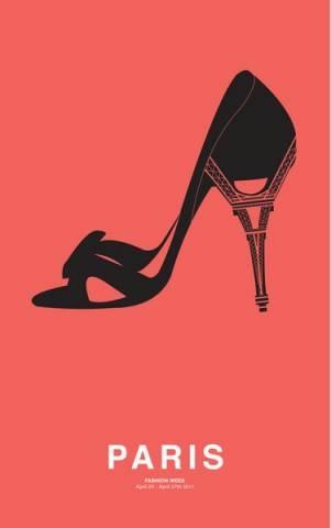 Paris Fashion Week poster
