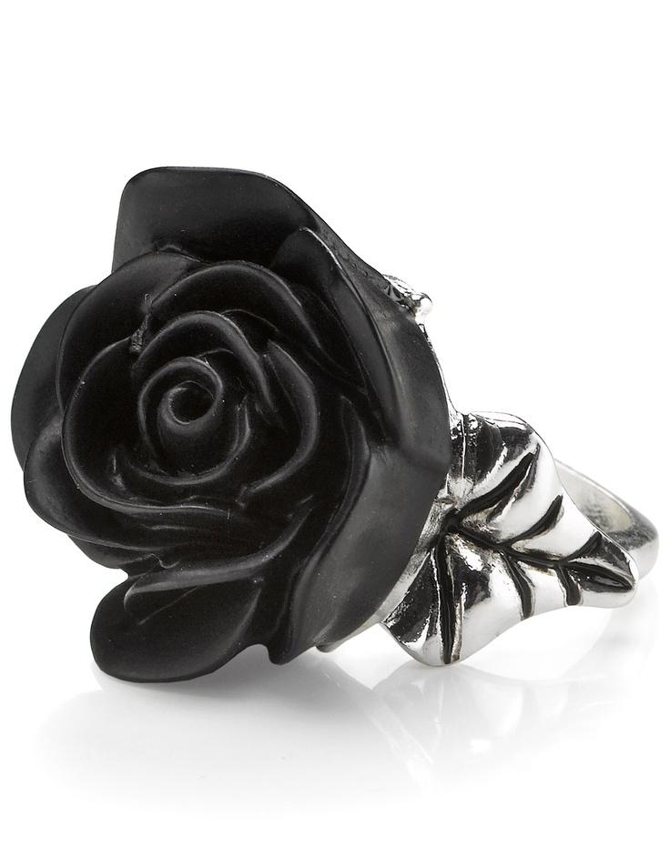 Resin Flower Ring