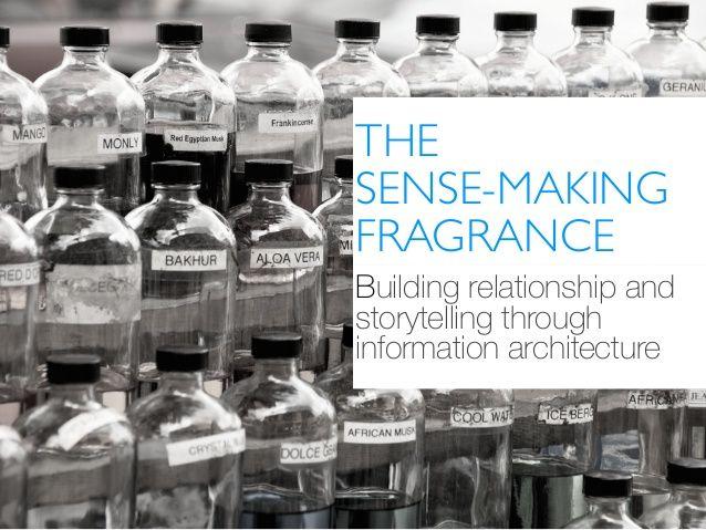 Sense-making through correlation: workshop slides.