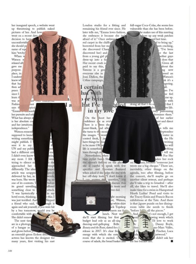 """Untitled #19"" by siggan22 on Polyvore featuring Paule Ka, Jaeger, Pokemaoke, WithChic, Chanel and Dolce&Gabbana"