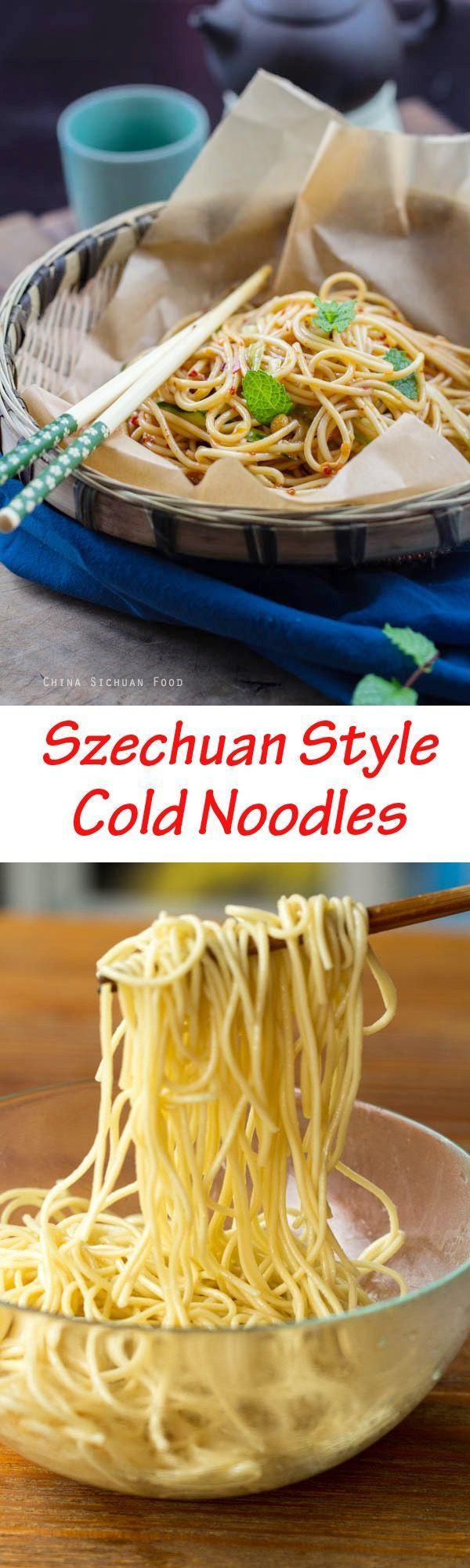 Szechuan Cold Noodles   China Sichuan Food