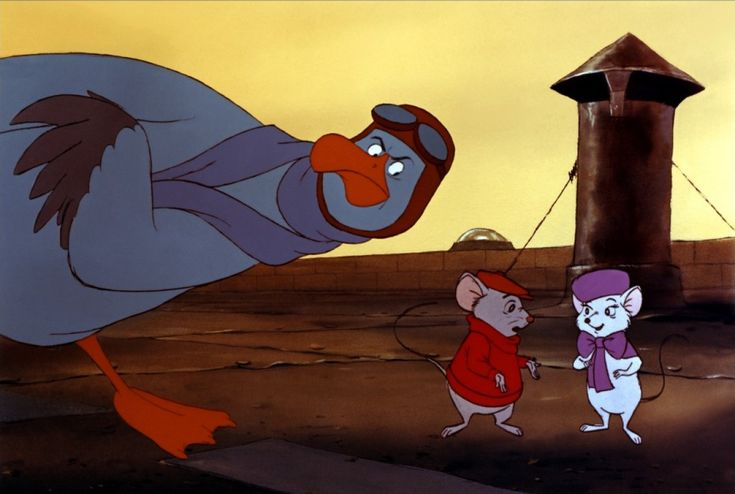 Wool and Wheel: The Rescuers {1977}