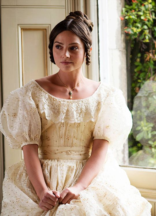 Jenna Coleman in 'Victoria' (2016). x
