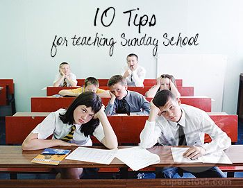 10 Tips for teaching a Sunday School lesson for church! (LDS style)  #lds #ldslessons #teachinginchurch #sundayschool