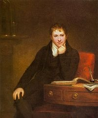 Humphry Davy - British chemist and inventor. He discovered several alkali and alkaline earth metals. He also discovered Chlorine and Iodine. He invented the Davy Lamp in 1815 that allowed miners to work safely in the presence of flammable gases.