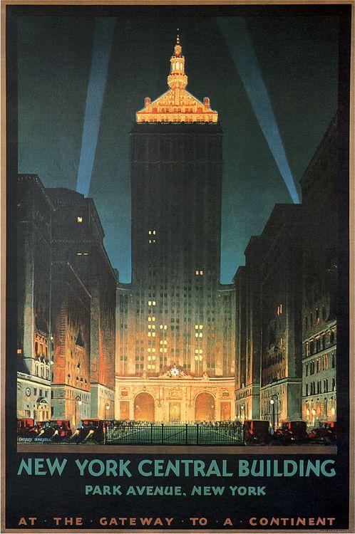 Vintage New York Poster                                                                                                                                                                                 More