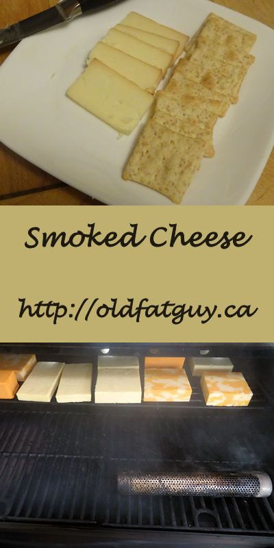 Smoke your own gourmet cheese at home. See http://oldfatguy.ca #cheese #smokedcheese