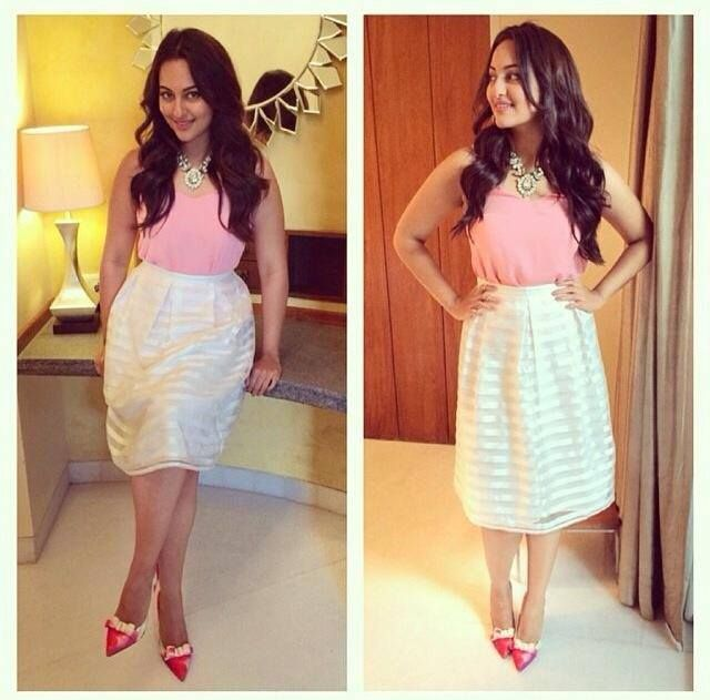 Sonakshi Sinha at the Zoom Anniversary interview!