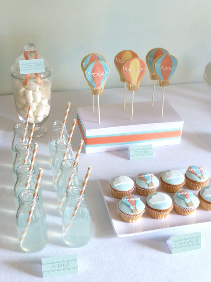 Little Big Company | The Blog: Hot Air Balloon Themed 1st Birthday by Peace of Cake