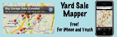 This site checks craigslist and maps out a route with all the yard sales in your area...
