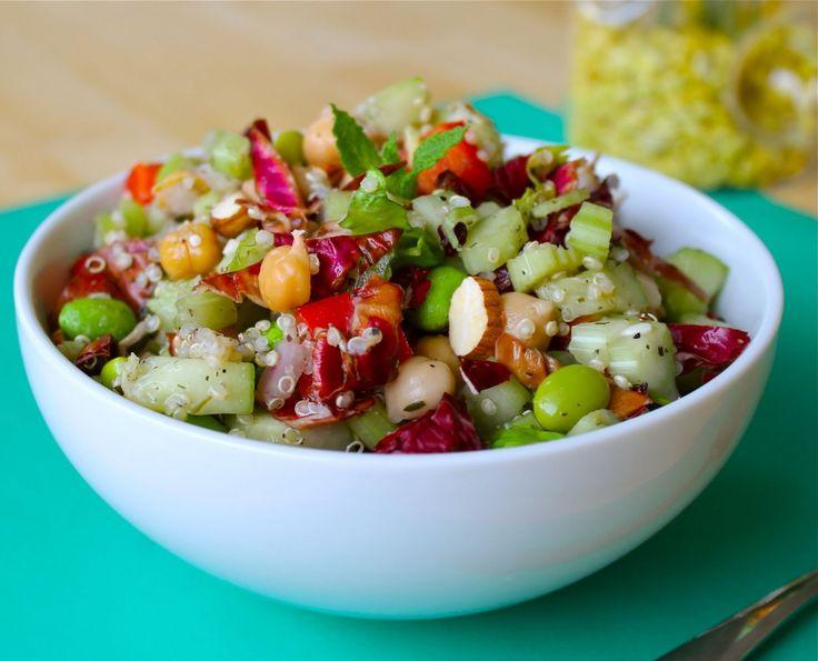 Amazing Yummy Healthy Recipes! The featured recipe in photo is of Trailblazer Quinoa.