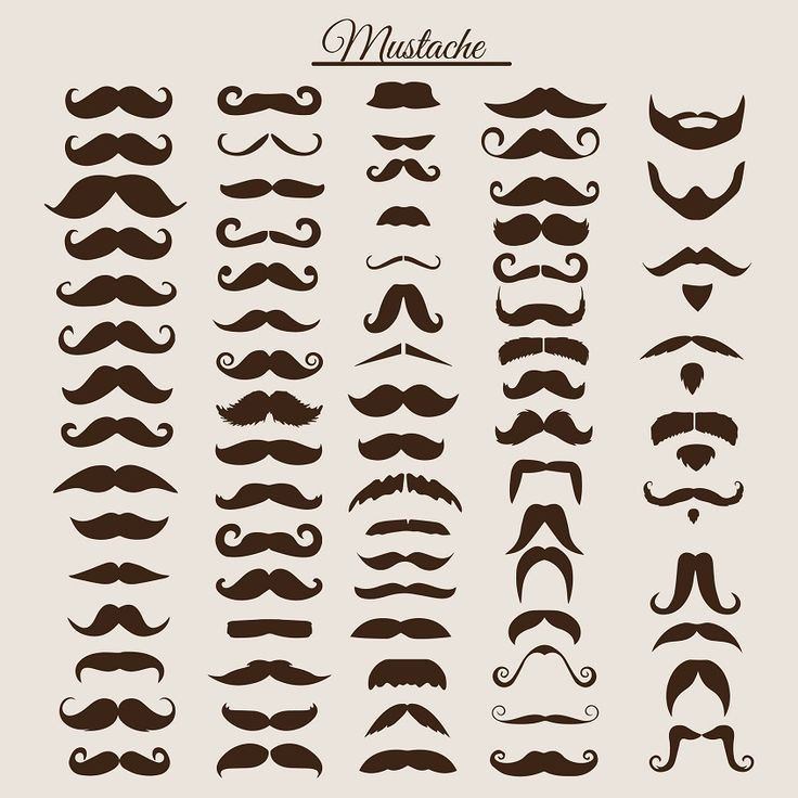 mustache styles and mustache trim