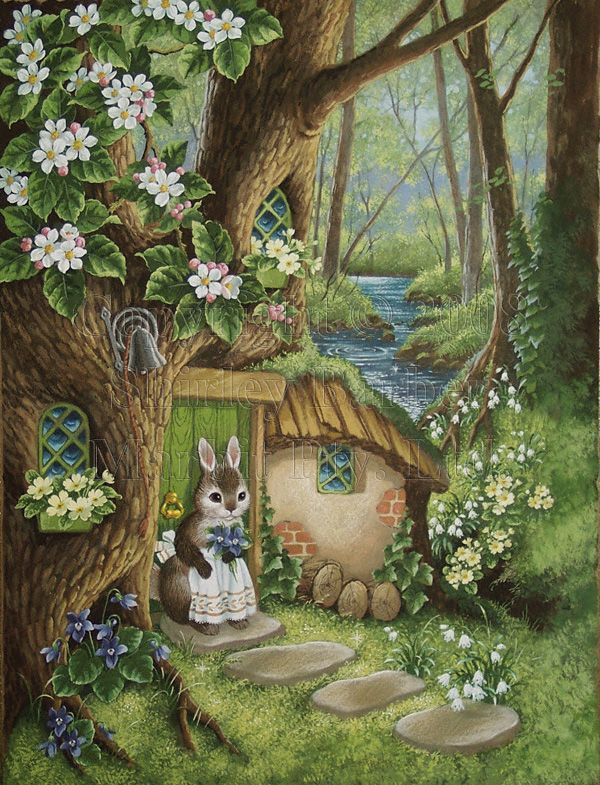 From The Tale of Martha B. Rabbit