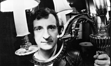 Douglas Adams: school archivist says future writer's poem is 'quite witty'. Photograph: Sue Adler for the Observer