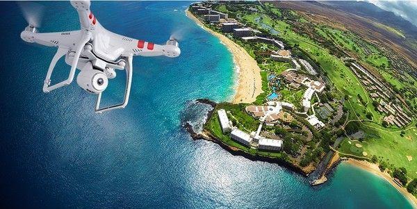 DJI Phantom 2 Vision Quadcopter with Integrated FPV Camcorder (White) | $1,100.00 | FuturisticSHOP.com