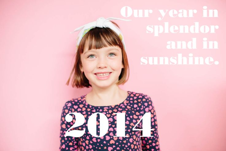 This family video is just so awesome. Made me smile!-  2014: Our Year in Splendor and in Sunshine (The Curtis Video Holiday Card)
