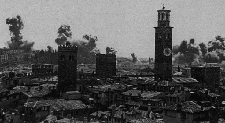 Bombardamenti sulla città - Luglio '44 http://www.veronavintage.it/verona-antica/verona-ferita/bombardamenti-sulla-citta-luglio-44