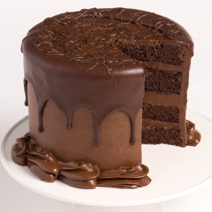 Making Fresh Tasty Chocolate Cake From Scratch