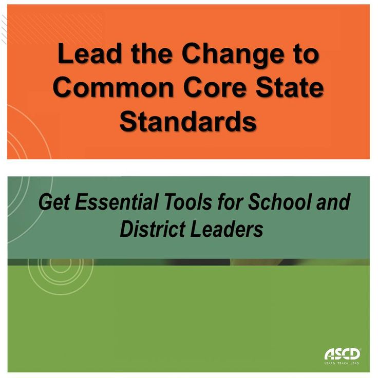 Transitioning to the CCSS requires leadership that is well versed in the learning and teaching demands of the CCSS and how to effectively implement and monitor its implementation.