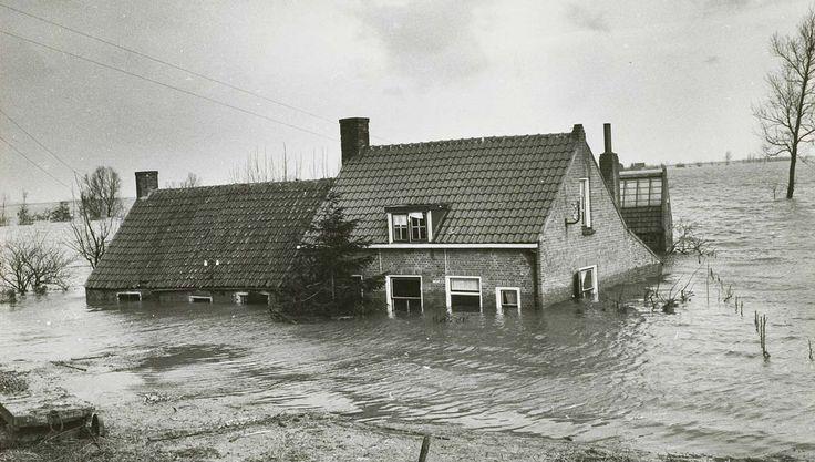 Flooding 1953, Ouwerkerk (Schouwen Duivenland)