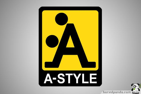 A-Style logo was born well before the line of clothing – designed in 1989 and marketed in Italy since 1999. It was in fact an invention of his creator who began to attack Italian cities with stickers on a yellow background with A-Style logo (an example of guerilla marketing ), followed by other cities including Miami , Moscow and London. The newspapers and television began to be interested in the strange appearances of the logo
