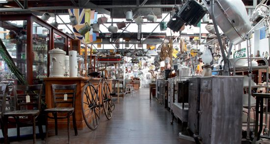 Doug Up On Bourke - Sydney's largest source of industrial, commercial, rustic antiques and collectibles