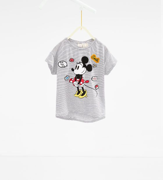 "ZARA - NIÑOS - Camiseta ""Disney"""