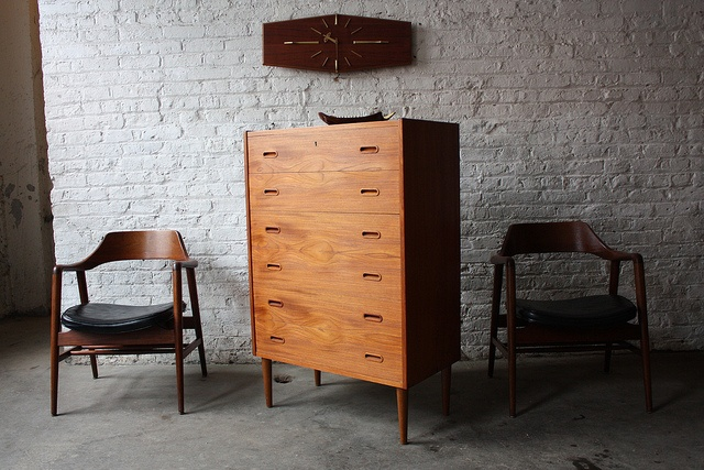 Scintillating Danish Mid Century Modern Tall Teak Chest Of Drawers Denmark 1959 By Kinzco