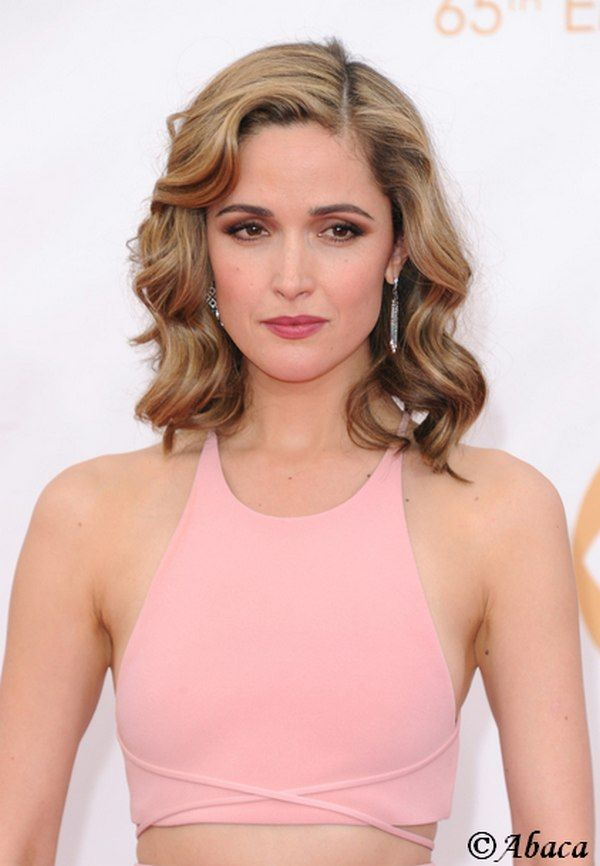 Rose Byrne 'Ombre Hair' Honey Hair Color - like the color and cut!