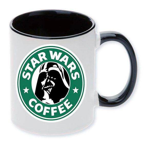 Ceramic mug Vader by MargoMagicJewel on Etsy