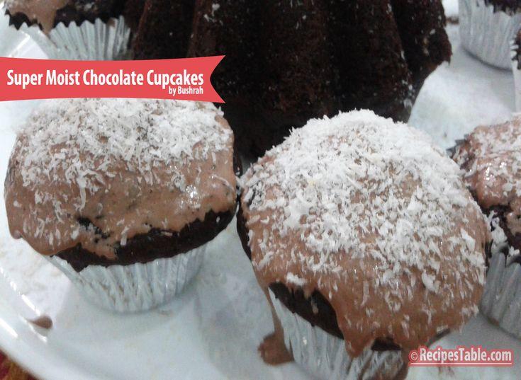 RECIPE: Super Easy, Super Moist Chocolate Cupcakes