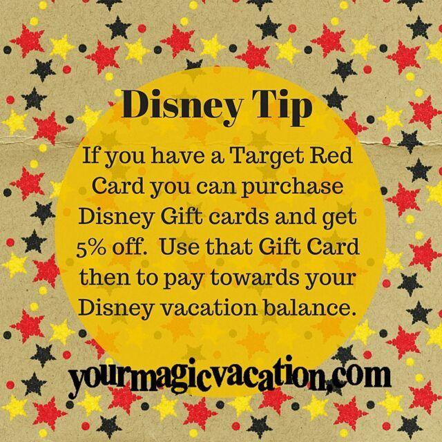 Do you have a Target Redcard?  #disneytip