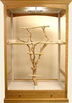 Cage de luxe pour la maison de Melina