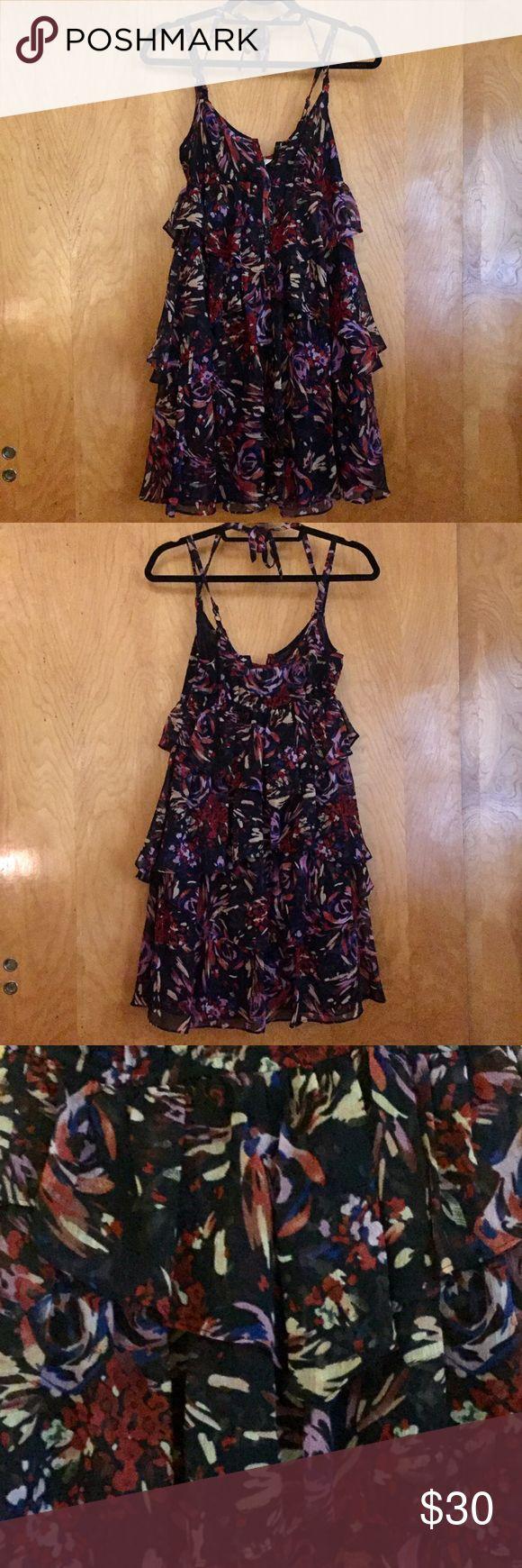 Selling this BCBGeneration ruffle dress on Poshmark! My username is: joyla. #shopmycloset #poshmark #fashion #shopping #style #forsale #BCBGeneration #Dresses & Skirts