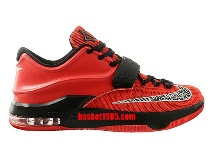 chaussures basket nike kd 7 vii pas cher pour homme rouge noir 653996 id5