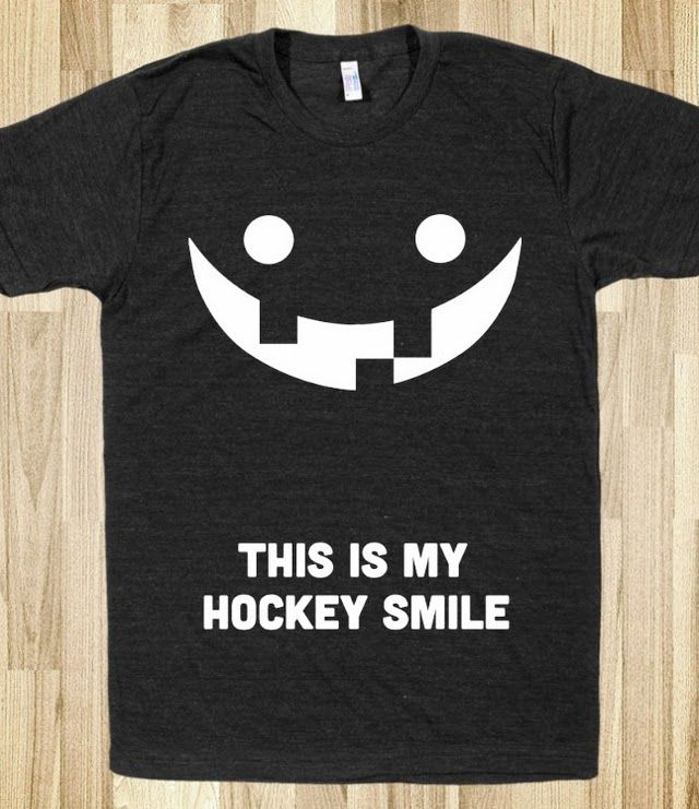 This is My Hockey Smile shirt