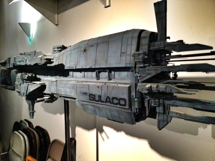 The U.S.S. Sulaco is a fictional spaceship and important setting in the film Aliens. It also appears briefly in the opening scene of Alien 3, and in the Aliens: Colonial Marines video game that takes place shortly after the events of Alien 3.