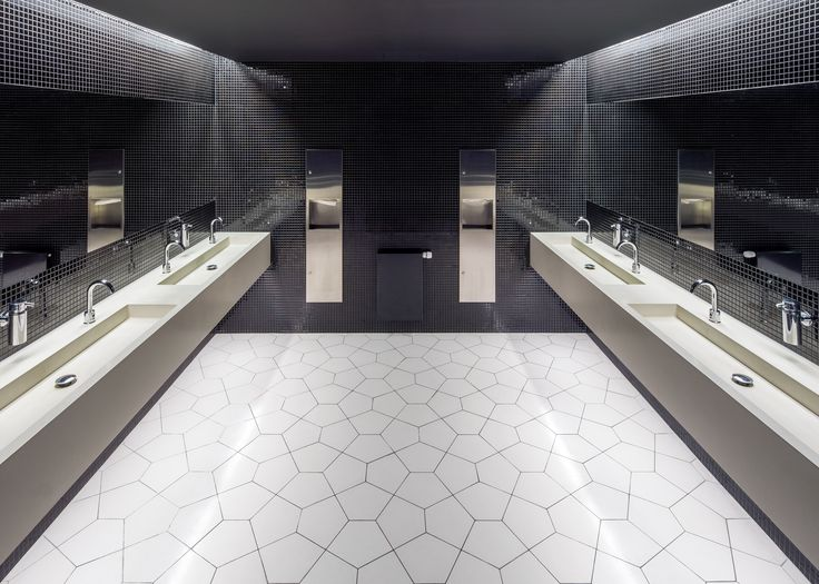 #bespoke #cementwashbasin and Aga #tiles Designed by #BarozziVeiga #tiles #cementtiles #baldosas #baldosashidraulicas #rajoles #rajoleshidrauliques #philharmonic #szczecin @eumiesaward #architecture #bathroom #archilovers #washbasin #architecturelovers #instaarchitecture