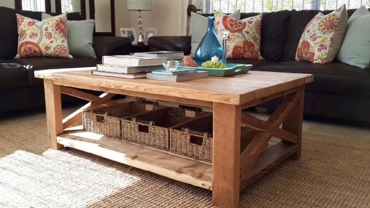 X-bean coffee table 1200x750 in recycled Oregon.