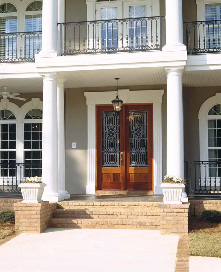 Southern Plantation Entry - plan #024S-0023 | houseplansandmore.com