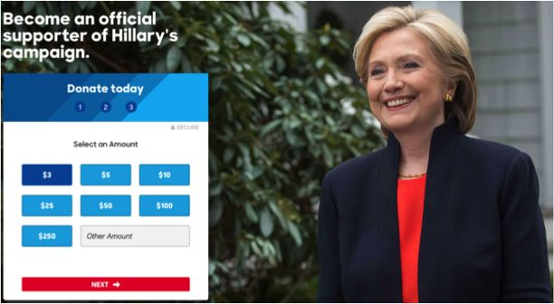 Grading the Choice Architecture of Presidential Candidates' Donor Pages (Pt. 2) — Misbehaving