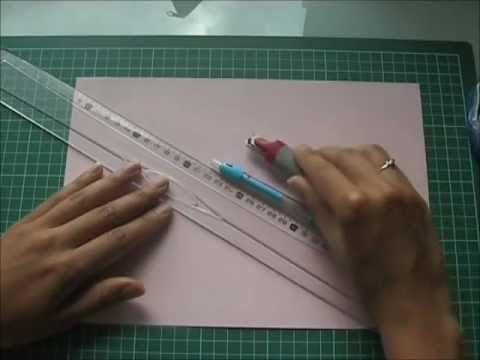 Tutoriel vidéo de la pochette en papier
