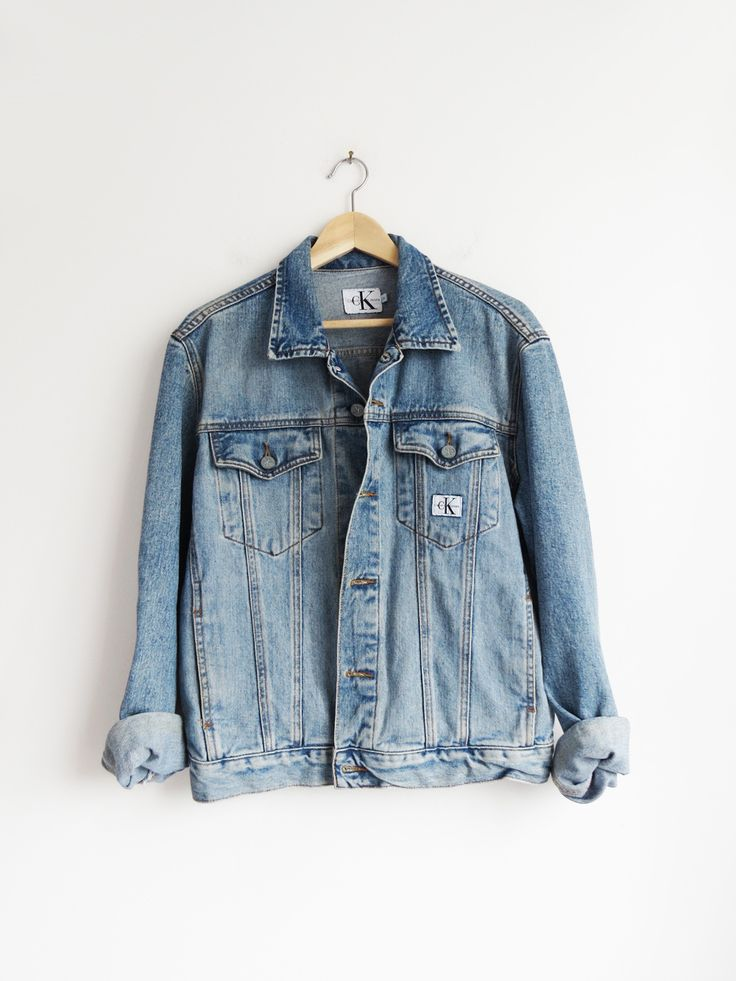 CK Denim Jacket // Vintage 1990's Jean Jacket SOLD