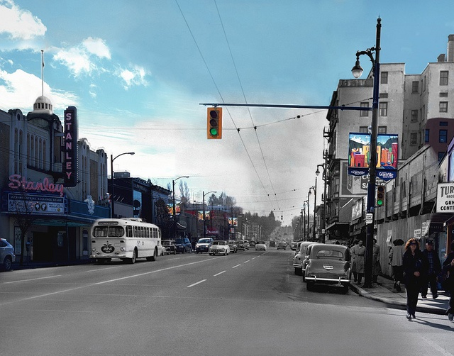 Stanley Theatre. Merging Time Project by Langara's Photo-Imaging students. #Vancouver
