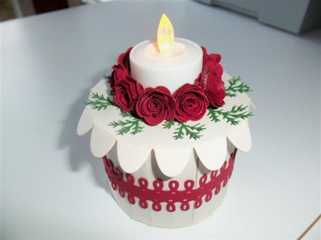 178 Best Paper Crafts Tea Light Cakes And Crafts Images On