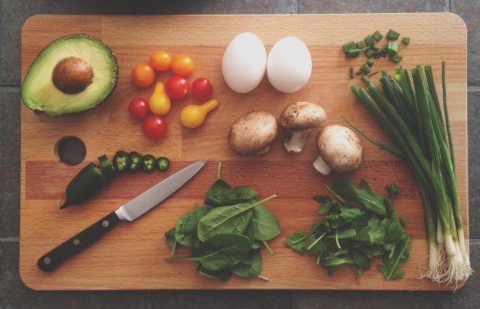 hjælp til vægttab - grønne grønsager til slankekost