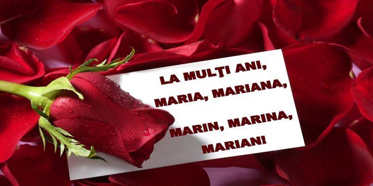 La multi ani nume sarnatorite de Sfanta Maria!