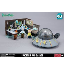 Rick and Morty Construction Set Spaceship & Garage