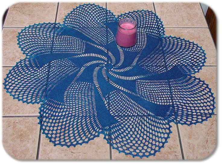 Free Crochet Patterns For Table Doilies : 726 best images about Crochet - Doily Heaven on Pinterest ...