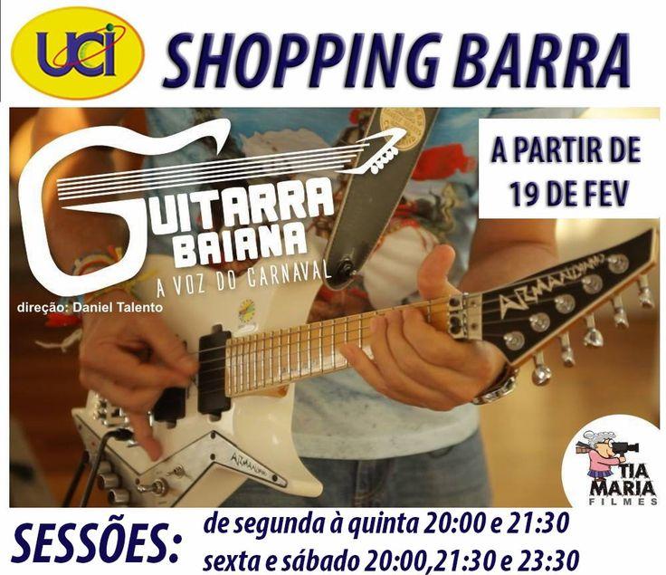 Blog do Rio Vermelho, a voz do bairro: Guitarra Baiana A Voz do Carnaval entrará em exibi...